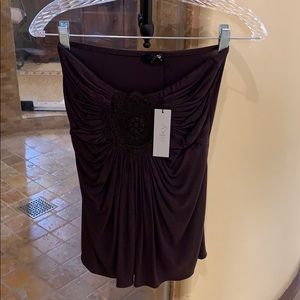 Tops - Sky strapless top brand new with tags